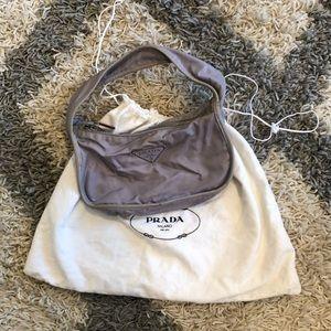 Prada Purple Nylon Bag